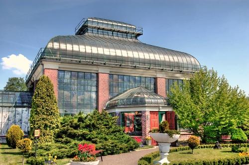 Budynek palmiarni Wałbrzych