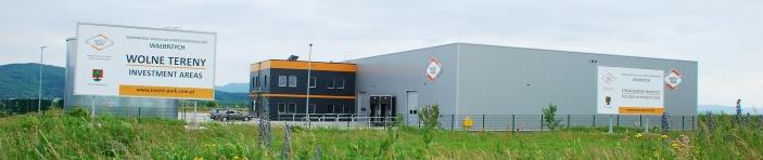 Biuro zarządu WSSE Wałbrzych